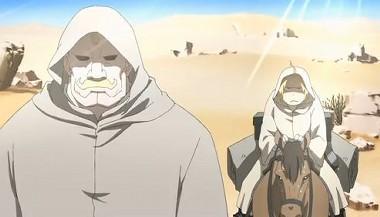 砂漠を歩ける馬