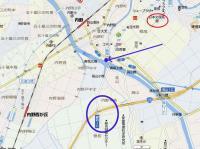 新潟曽和IC地図