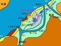 新潟地形図