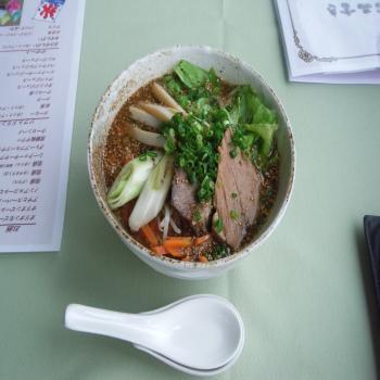 宮古味噌蕎麦
