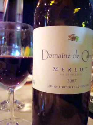 『Domaine de CABRIAC Merlot』