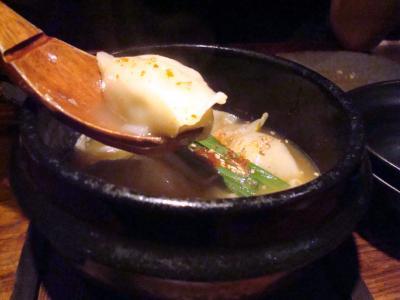 烏骨鶏の炊き餃子