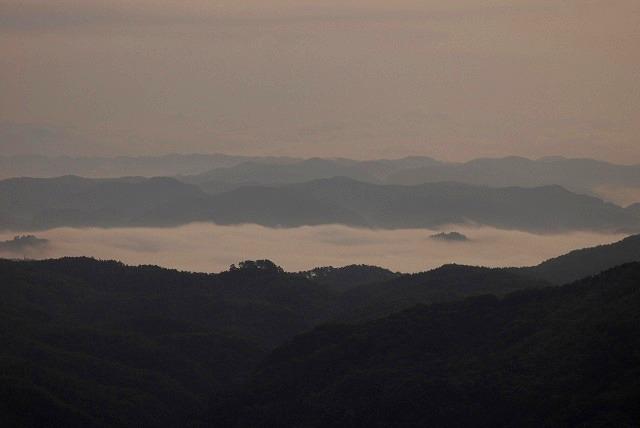 天神山の日の出1