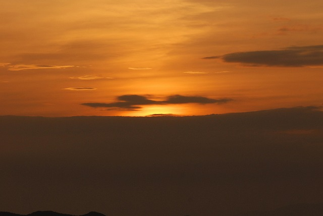 天神山の日の出3