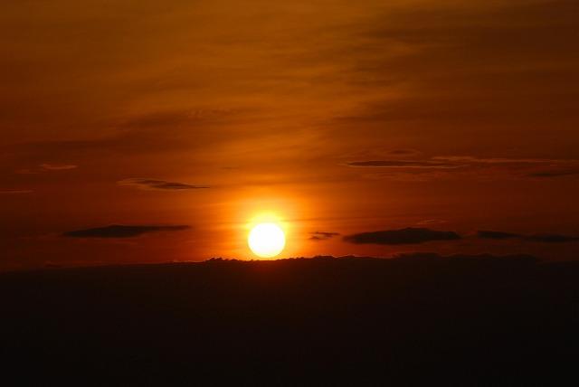 天神山の日の出4