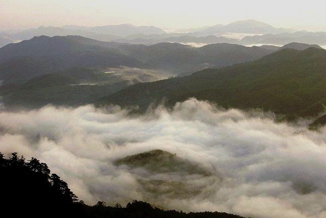 天神山の日の出7