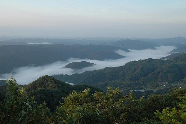天神山の日の出8