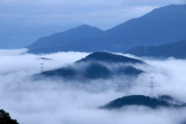 明智峠の雲海3
