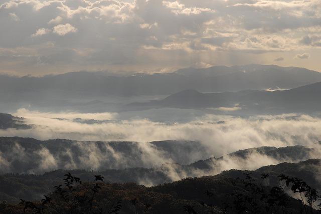 鬼女台の雲海1