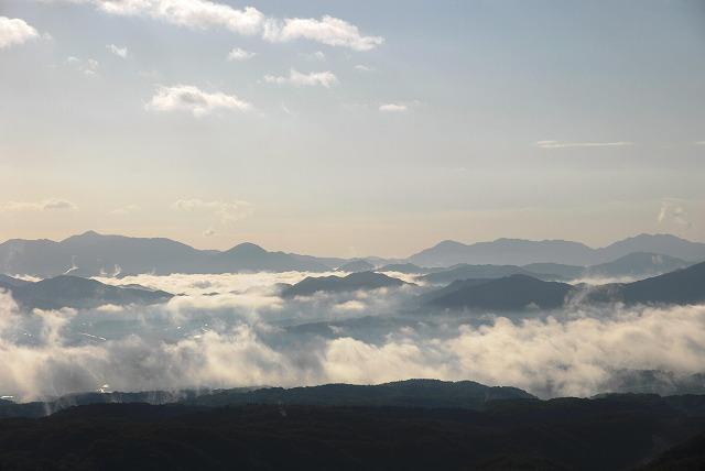 鬼女台の雲海3