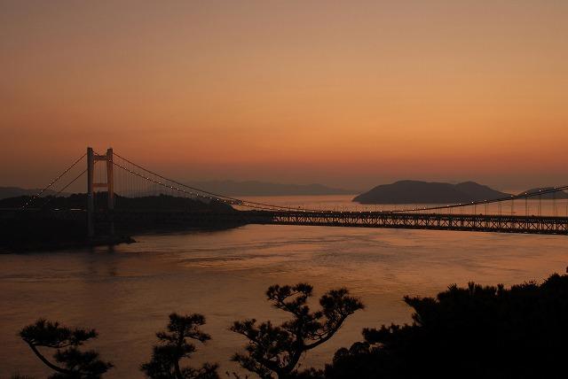 鷲羽山の夕日10