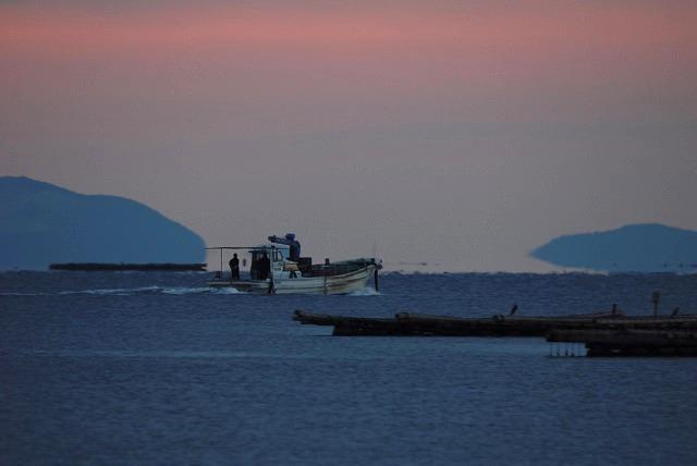 牡蠣漁船1
