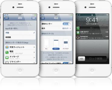IOS5通知機能