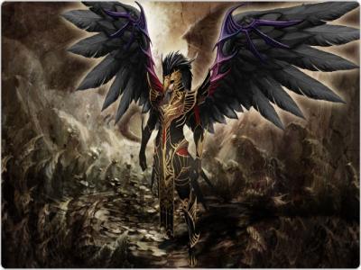 男性用黒天使