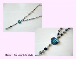 ネックレス Blue006B