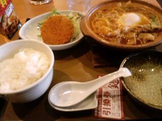 カレー鍋定食