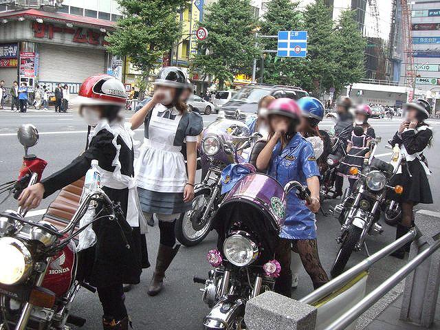 自転車の 富山 レール 自転車 : Japanese Motorcycle Gangs