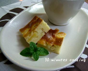 チョ~簡単★リンゴとアーモンドの焼きっぱなしのケーキ