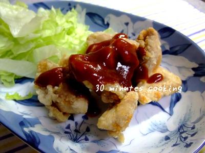 バーベキューソースDE鶏唐