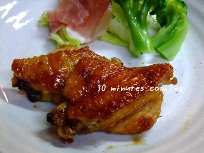 鶏手羽のお酢DE照り焼き