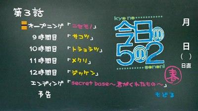 今日の5の2 DVD 春(初回限定版)