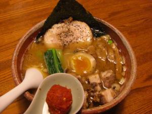 09070119あってりめん・あってり麺(みそ) 700円&iggy 100円