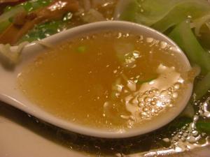 09070119あってりめん・たんめん(しお)あっさり スープアップ②