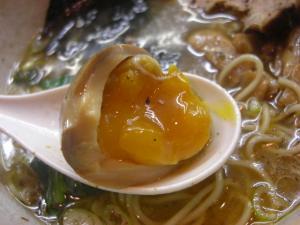 09070121あってりめん・あってり麺(しお) 味玉アップ