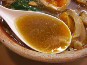 09070820あってりめん・あってり麺(しょうゆ) スープアップ