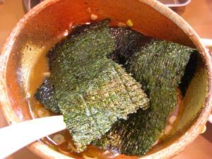 09070820あってりめん・あってり麺(しょうゆ) 巨大海苔アップ