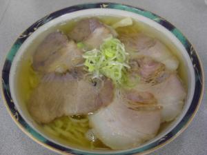 09070419麺龍・ハーフハーフ(チャーシュー麺) 682円