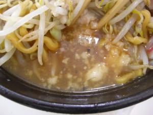 09071713成都・なると麺(全増し) スープアップ