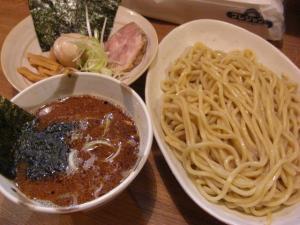 09080818○汁屋・つけ麺 790円 特製トッピ 200円
