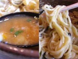 09081012マトヤ・ぶっかけトロロ冷麺(温玉入り) スープアップ&麺アップ