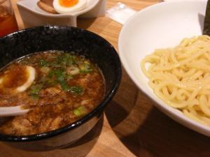 09082318一風堂・博多つけ麺(麺多めサービス) 850円