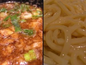 09082318一風堂・博多つけ麺 スープ&麺アップ