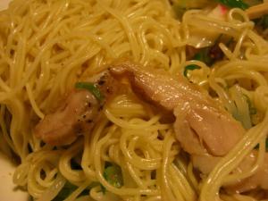 09082920あってりめん・『ひやちゅう』 麺&鶏チャーアップ