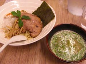 09090119燵家製麺・鶏白湯つけ麺 800円