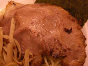 09090120燵家製麺・鶏白湯つけ麺 炙りチャーシューアップ