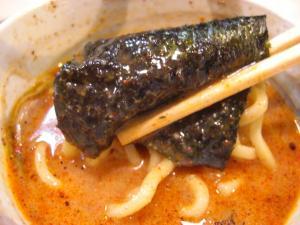 09091213○汁屋・味噌つけ麺 海苔巻き麺 in デスラースープ
