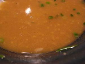 09091919秀虎・みそとんこつ スープアップ油加減
