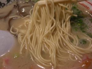 09092103田中商店・らーめん 麺アップ