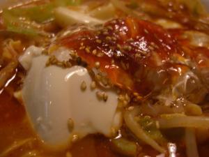 09110118あってりめん・辛いらーめん《赤っテリ麺》 豆腐(ジョニー)&ヒアルロン酸ゼリーアップ