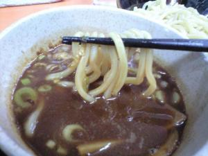 09103020奉天・つけめん 麺 in スープ