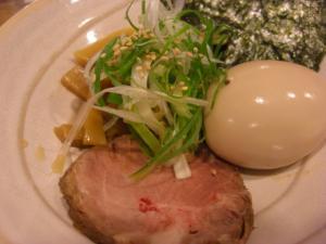 09110112○汁屋・つけ麺(280g) 特製トッピング