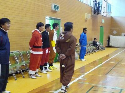 着ぐるみコーチ