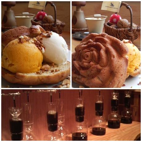クルミドケーキアイス