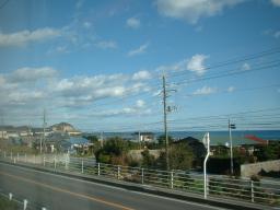 貴重な海の風景