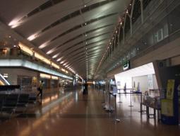 羽田空港21時