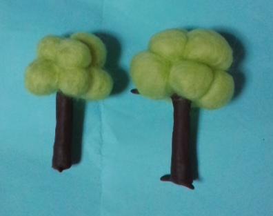 ジオラマ用の木